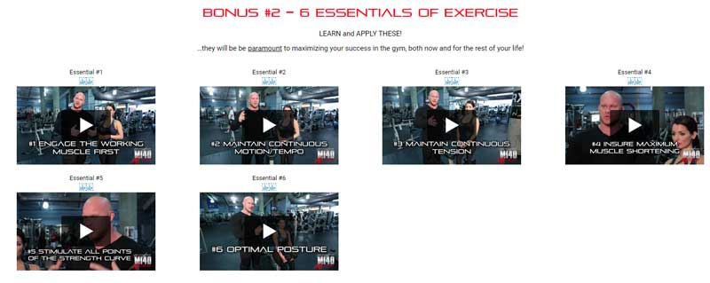 mi40x essentials of exercise