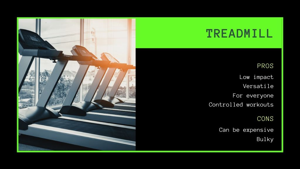 treadmill pros and cons