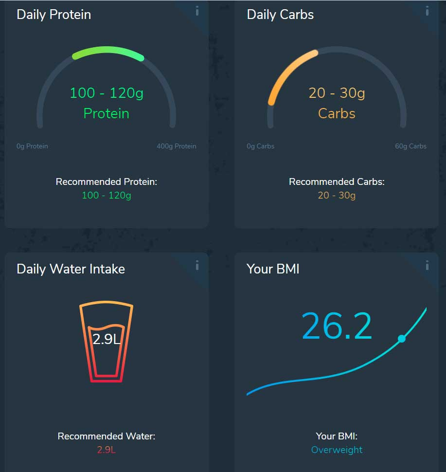 custom keto diet protein and carbs