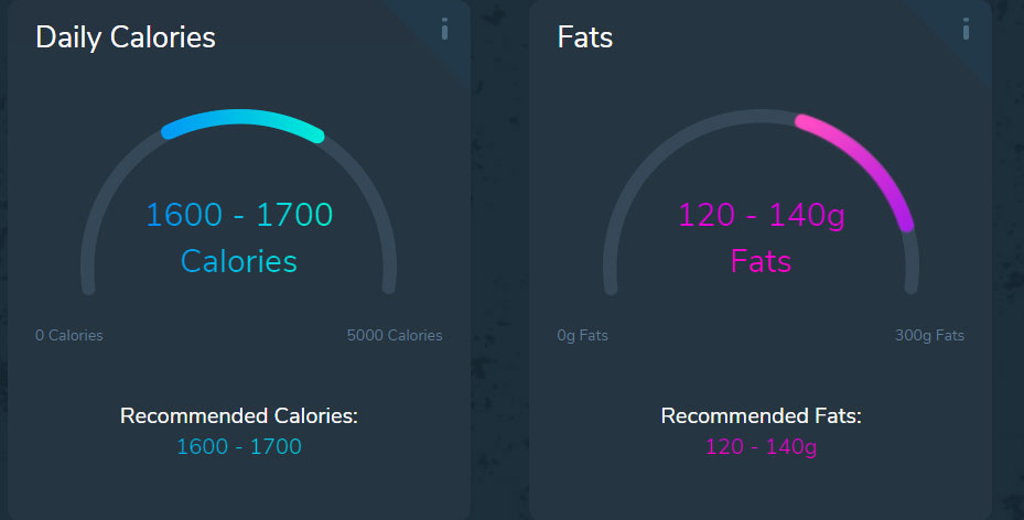 custom keto diet daily calories