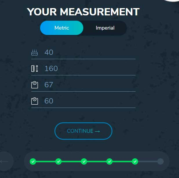 custom keto diet measurement
