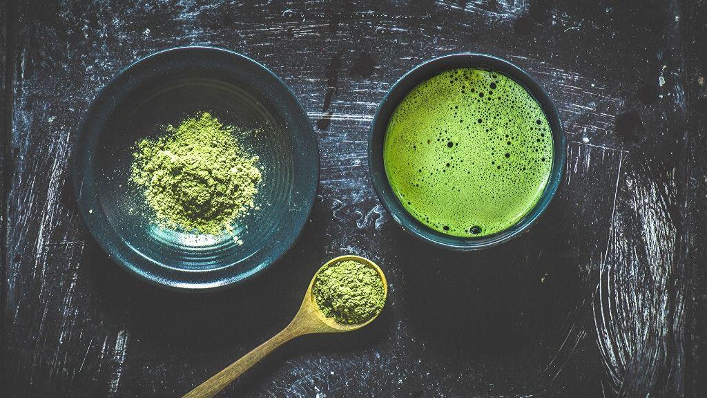 green tea preparation