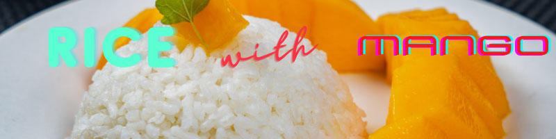 rice with mango