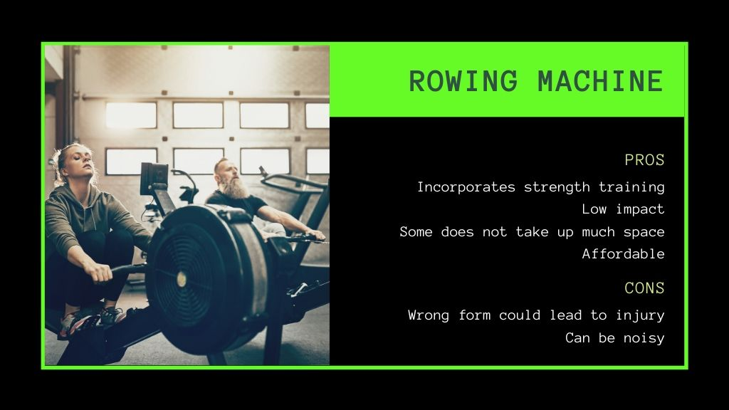 rowing machine pros and cons