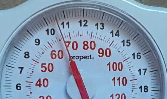 weight check daily