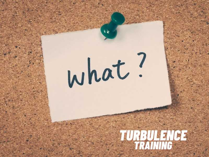 what is turbulence training